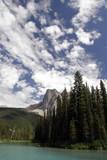 emerald lake, banff national park poster