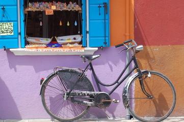 vélo près de venise