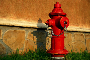 hidrante rojo