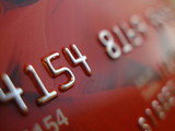 credit card macro poster