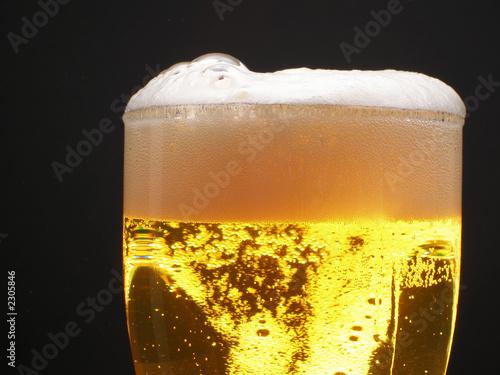 poster of beer foam