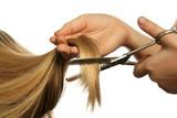coiffure ciseaux poster