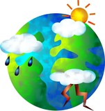 weather world poster