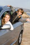 vacation car hire , rental poster