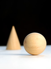 ball and cone