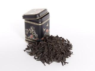 black box for tea.