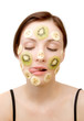fruity face treatment