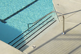 swimming pool steps poster