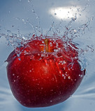 sinking apple poster