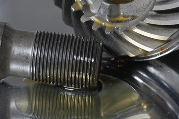 bolt, gears and oil