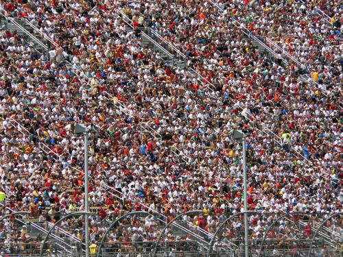 Fotobehang Motorsport superspeedway crowd