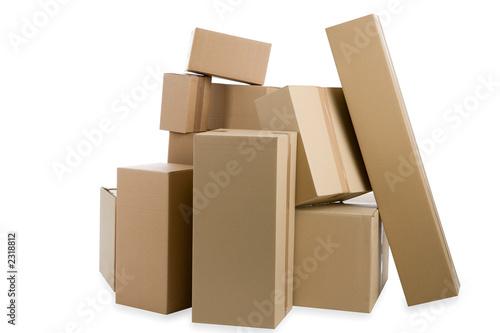 viele kartons
