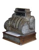 vintage cash register poster