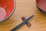 oriental tablewares poster