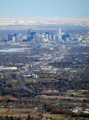denver from above