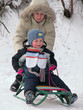 child winter play