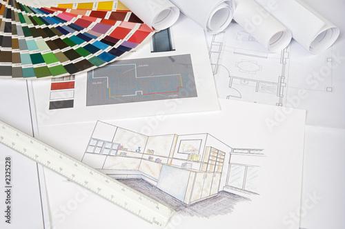 Fototapete Architektur und Bauwesen - Wandtattoos - Fotoposter - Aufkleber