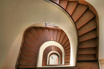 vertigo - spiraltreppe
