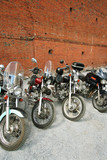 four motorcycles