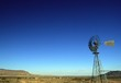 windmill in the mohave desert