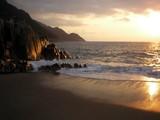 corsica - tramonto poster