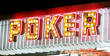 poker neon lights