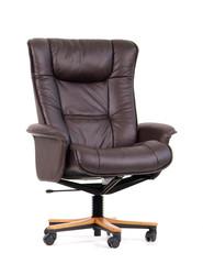black luxury office chair