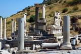roman ruins at ephesus poster