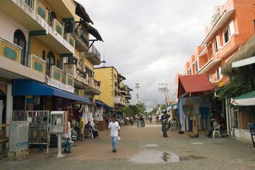 mexico street scene
