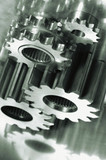 gear mechanical parts poster
