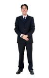business man - full body poster