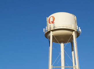 """""""water tower with q"""""""