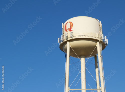 """water tower with q"""