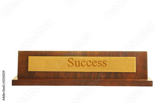 success nameplate