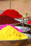 colourful tika powders poster