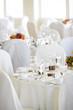 fancy wedding tables