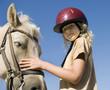la fille et le cheval