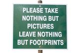 environmental conservation sign poster