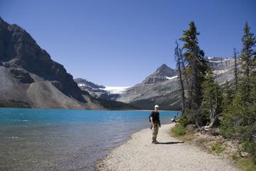 ranger on bow lake