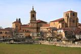 monastery of santo domingo de silos (spain) poster