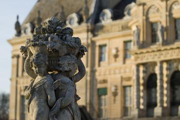 sculpture et chateau