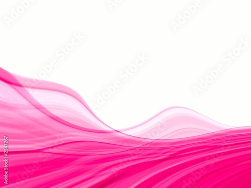 pink & white abstract