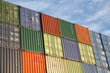 freight containers poster