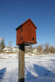 red bird box