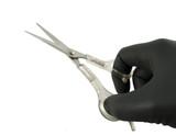 scissors open poster