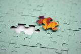 jigsaw - color bit (shallow dof) poster