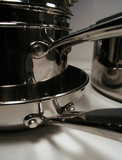 stainless steel pans poster