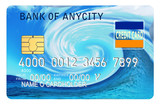 credit card wave poster