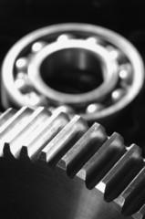 mechanical-gears and velvet