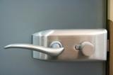 metal door handle poster